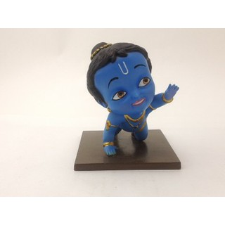 Crawling Krishna Action Figurine