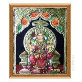 Sri Raja Rajeswari Devi Tanjore Painting