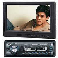 Car 7 inch Lcd screen with Car DVD STEREO