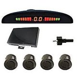 Car Safety Reverse Parking Sensors+ Display-Beeper + FREE DVD Holder + Waranty
