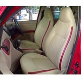 CAR SEAT COVERS-Leatherite Sedan Car-beige-+ Washable + Waranty + FREE DVD Holder + Lowest Price