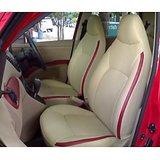 CAR SEAT COVERS-Leatherite Sedan Car-beige-+ Washable + Waranty + FREE DVD Holder + Lowest Price