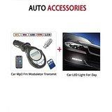 Car LED Light + Sonilex Mp3 Fm Modular Indiamall