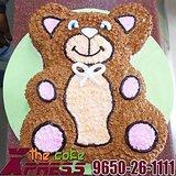 2.5 Kg Teddy Bear Cake-Delhi NCR