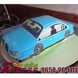 New BMW 3D Car Shape Cake-Delhi NCR