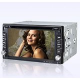 "New 6.2 "" Double 2 Din Car Dvd Player With GPS, TV, FM, Bluetooth For Brio, Beat"
