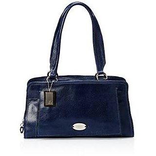 Phive Rivers Evaline Black Leather Sling Bag