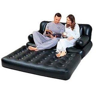 Buy Best Way 5 In 1 Inflatable Sofa Bed Black Online