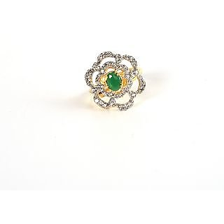 Man made diamonds (CZ) ring from Meherma Creation_MEHR0043