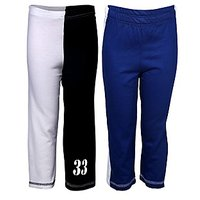Goodway Pack of 2 Boys Cut-Sew & Double Colour Full Pants