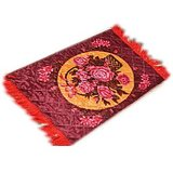 Pooja Assan Mat (set Of 2 Piece)-design4