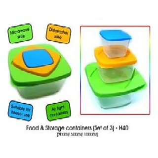 Power Plus Food  Storage Containers