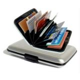 Set Of 2 Aluminum Wallet Purse Credit Card ATM Money Holder Organizer For Men Women Ladies