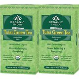 Organic India TULSI GREEN TEA 25 Tea Bags Set Of 4