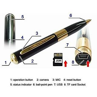 HD Spy Pen Camera with expandable memory