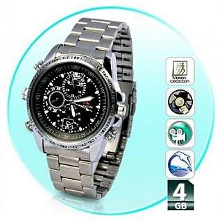 Latest Spy Hidden Wrist Watch Camera 4GB