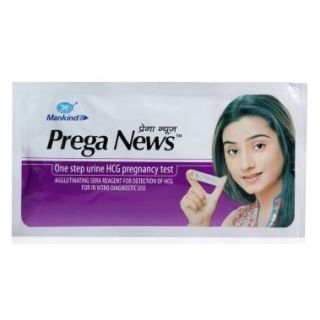 38% discount on Mankind Prega News Pregnancy Test Kit (3 Strips) for Rs.131at Shopclues. com