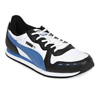 MENS SPORTS SHOES CABANA 2303 WHITE - BLUE LEIGHT WEIGHT,JOGGER