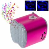 New Arrival Portable Mini Digital Speaker With Usb Micro Sd Tf Card T 2012 Pink