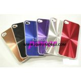 Aluminum Metal Texture Cd Back Cover Pattern Hard Case For Iphon