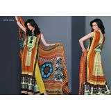 Embroidered Tribal Art- A Designer Suits -fariha Fab