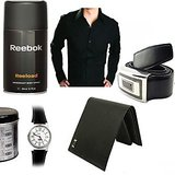 Reebok Deo+ Reebok Watch+ Wallet+ Shirt+ Belt