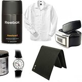 Reebok Deo+ Reebok Watch + Sunglass + Wallet + Shirt+ Belt