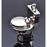 COMMODE pot Key Chain full metallic keychain car bike,toilet keyring Free Shipping