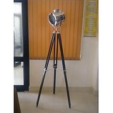 VINTAGE SPOT LIGHT WITH TRIPOD STAND- HOME DECOR