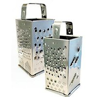 8 In 1 Grater Stainless Steel Four Sided Grater - 1113090