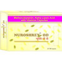 Shreys Nuroshrey-D3 For Neurological Health (Methylcobalamin  Vitamin D3)
