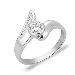 Peora 92.5 Cz Sterling Silver Ring PR1278