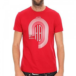 Men's Casual Red T-Shirt