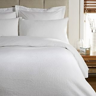 Valtellina  Natural Cotton  white  Double  Bed sheet 90 x108 inch (HTL-001_4)