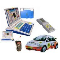 Combo - English Learning Laptop + Radio Control Wireless Remote Car