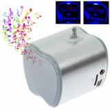 New Arrival Portable Mini Digital Speaker With Usb Micro Sd Tf Card T 2012 Silver