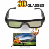 Fashional Practical Active Shutter 3d Glasses Used For 3d Tv 3d Cinema System 3d Projector 3d Computer Black