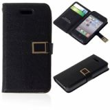 Fashionable Glossy And Classy Hard Shell Superb Leather Case For Iphone 4/4s