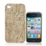 Broken Wood Grain Pattern Plastic Back Skin Case Cover Shell For Iphone 4g
