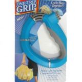 One Trip Grip Bag Holder Carrier (Blue)