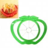 Stainless Steel Fruit & Vegetable Piler With Apple Shaped - Green
