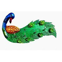 Key holder - Peacock - wall hanging - Unique Arts