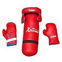 Punching Kit Bag for kids..!! Kit Bag + Gloves + Head Gaurd