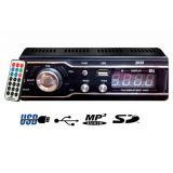 Car Stereo With Remote FM MP3 USB -SD Slot Aux