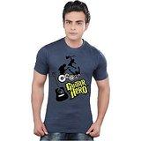 Clifton Guitar Hero Graphic Blue Men's T Shirts