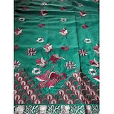 Kashmir Embroidered  High Quality  Sea Green  Colour Cotton Dress Material With Matching Dupatta