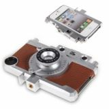 Gizmon Ica Transform Iphone Into Retro Camera Hard Case For Iphone 4 4s (brown)