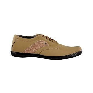 Yepme Men's Tan Casual Lace up Shoes