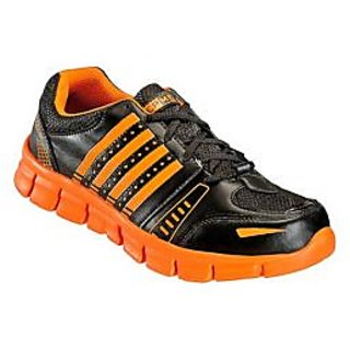 Yepme Spencer Sports Shoes - Black & Orange