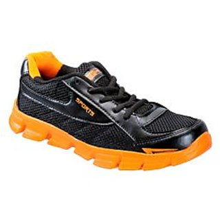 Yepme Smash Sports Shoes- Orange & Black